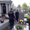 Policejní kontroly na hřbitovech